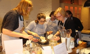 Gourmanderie-Teamevents in Berlin Charlottenburg